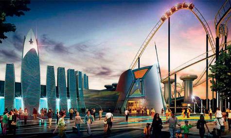 Paramount Murcia Star Trek Rollercoaster Paramount Park Murcia – Das Projekt überwindet eine weitere Hürde