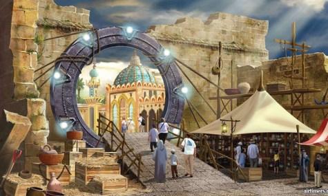 Red Sea Astrarium Stargate 475x285 Red Sea Astrarium   Der jordanische Park zeigt die Wunder der Welt