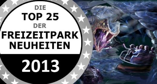 Airtimers Top25 der Freizeitpark Neuheiten 2013 – Platz 15 bis 11