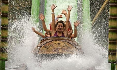 Skyline Park Wasserbahn Skyline Park zittert dem endgültigen Saisonstart entgegen