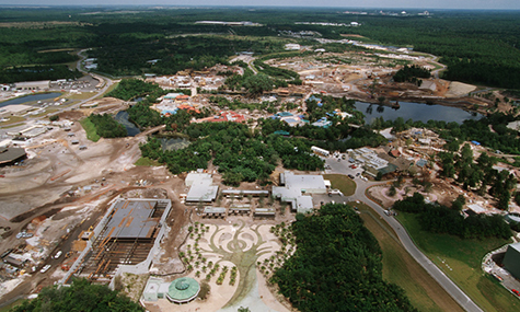 animal kingdom construction site  Animal Kingdom   15 Jahre tierischer Spaß!