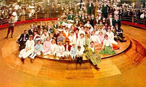 steeplechase menschlichesroulette George C. Tilyou   Der Freizeitparkpionier von Coney Island