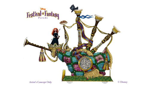 Festival of Fantasy brave 475x285 Disneys neue Parade im Magic Kingdom