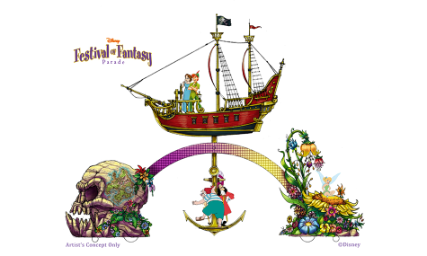Festival of Fantasy peter pan 475x285 Disneys neue Parade im Magic Kingdom