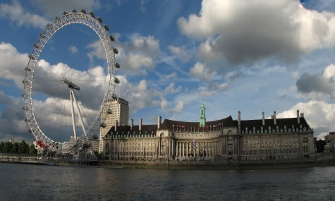 London Eye and County Hall panorama In London wird's mystisch – Merlin Entertainment eröffnet Mystery 4D Attraktion in 2015