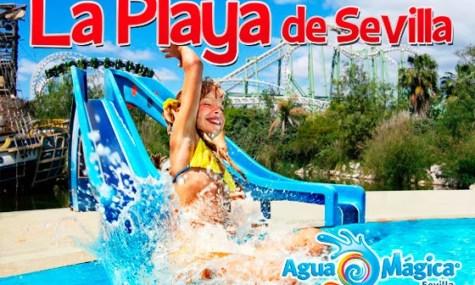 playa sevilla 475x285 Isla plus Agua gleich Mágica   Planschen zum zweiten in Spanien 2014