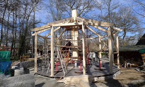 Baustelle Fassltanz Neusiedlersee  Viele Neuheiten für die ganze Familie im Familypark Neusiedlersee