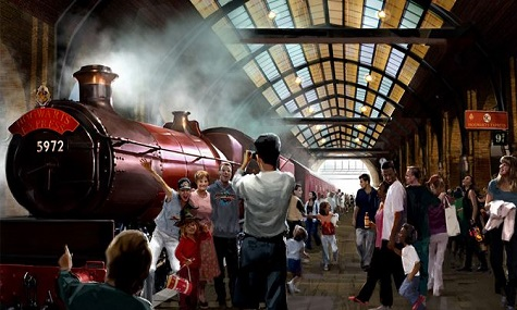 Neue Details zu Harry Potter and the Escape from Gringotts