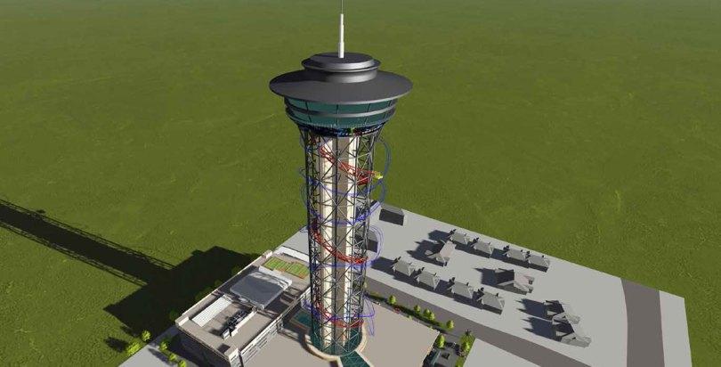 Skyscraper – Die zukünftig höchste Achterbahn der Welt
