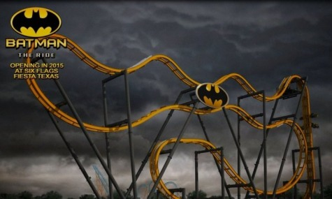 Six Flags Batman Achterbahn Neuheiten 2015