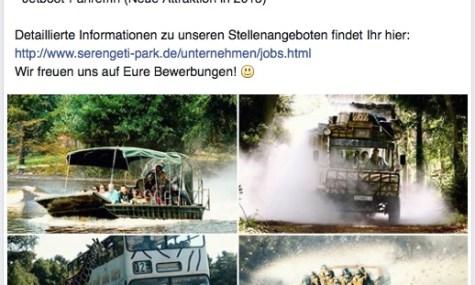 serengeti park facebook2015 475x285 Serengeti Park Hodenhagen erweitert 2015 mit einer persönlichen Black Mamba