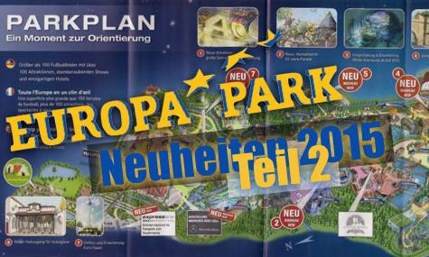 Neuerungen im Europa Park 2014
