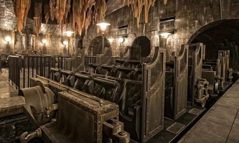 Gringotts Wagen 475x285 Neuheiten Check: Harry Potter and the Escape from Gringotts, Universal Studios Florida