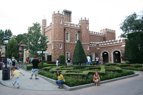 UK Pavillon1 Very British in the US: der UK Pavilion in EPCOT