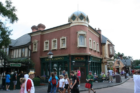 UK Pavillon2 Very British in the US: der UK Pavilion in EPCOT