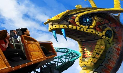 """Busch Gardens – Alles über die 2011er Achterbahn """"Cheetah Hunt"""""""