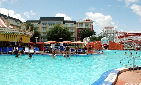 Luna Park Pool Boardwalk Plantschen mit Mickey Mouse – die besten Pools der Walt Disney World Resort Hotels
