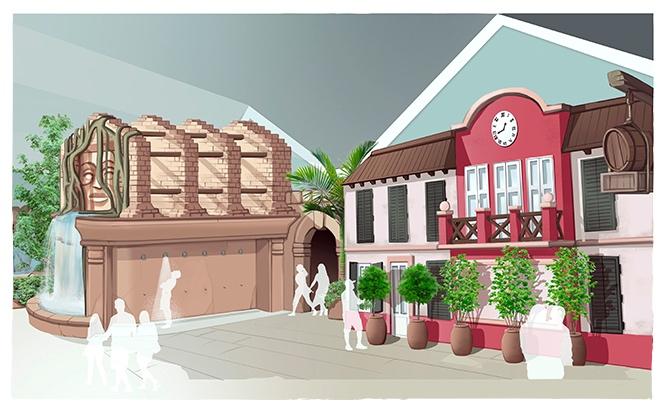 Hossa! Aqua Mexicana festigt Slagharens Resort Standort