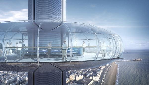 Hoch, höher, i360   Brighton erhält den höchsten Aussichtsturm der Welt