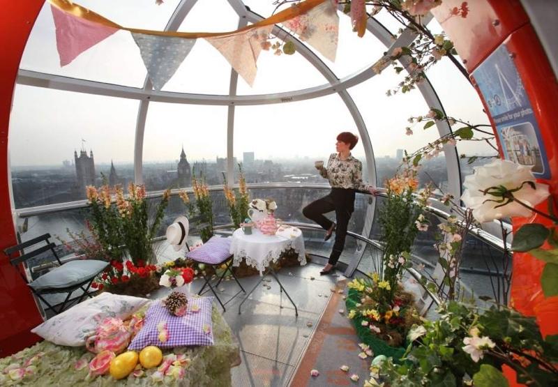 Wachsende Aussicht Weltweit: Explosion der Rekord Riesenräder