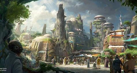 sw2 475x254 Star Wars Themenbereiche für Disney Parks angekündigt