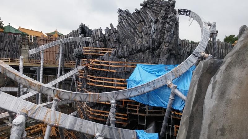 Stahl, Holz und Beton   Taron und Klugheim wachsen unaufhaltsam