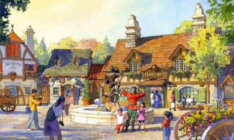 disneytokyo beautyandthebeast Airtimers Wochenrückblick KW 17   Pläne für Disney Resort in Tokyo enthüllt