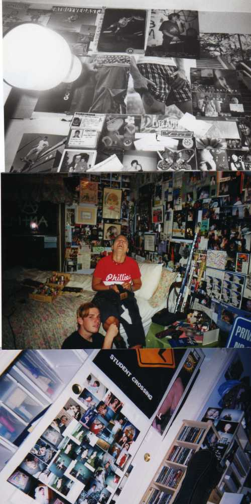 This clutter mimics the clutter, confusion and turmoil in my teenage years. How I managed to stay an excellent student? I blame my awesome mom.