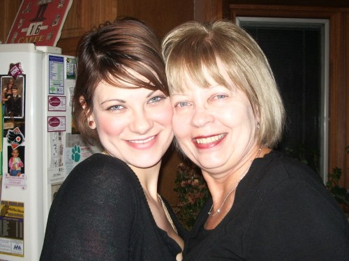 Me and Mom!