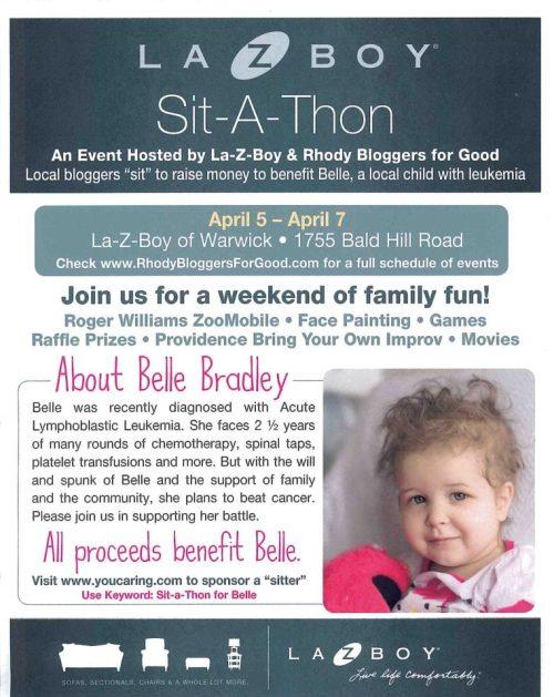 Sit-a-Thon Flyer