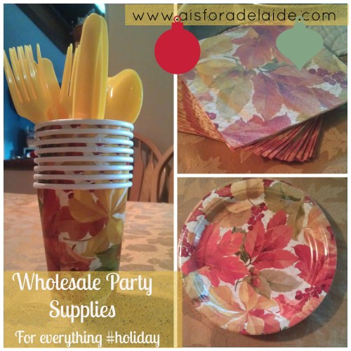 Wholesale Party Supples, hollidays, Thanksgiving, review,