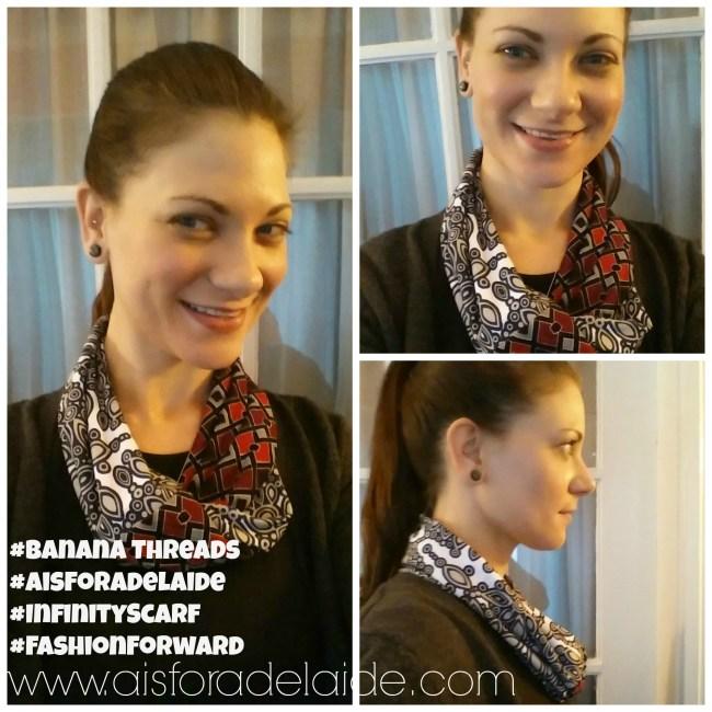 #AisForAdelaide #BananaThreads #scarf #handmade