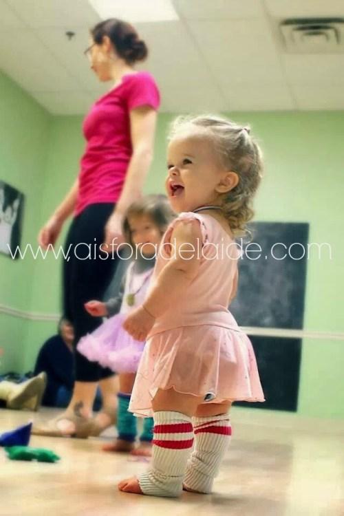 #aisforadelaide Dance Class