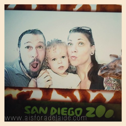 #aisforadelaide #sandiegozoo #zoo #travel #california #family