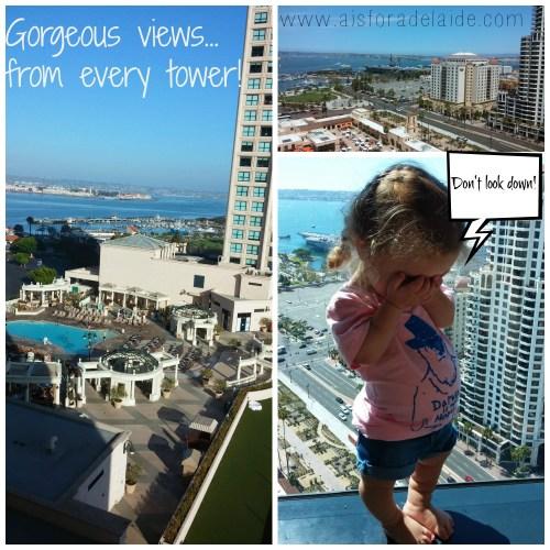 #aisforadelaide #travel #sandiego #manchestergrandhyatt #hotelviews