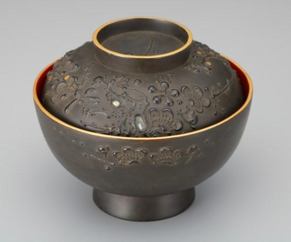 会津鉄錆塗り汁椀