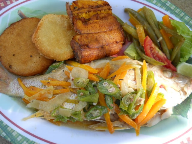Real authentic jamaican food for Jamaican steam fish recipe