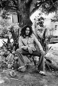 Bob Marley at home on Hope Road Kingston around 1978 By Dennis Morris