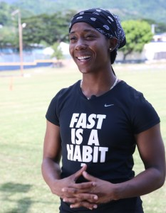 Olympic Sprint Champion - Shelly-Ann Fraser-Pryce
