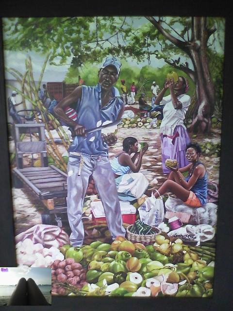 Lennox Cox art on display