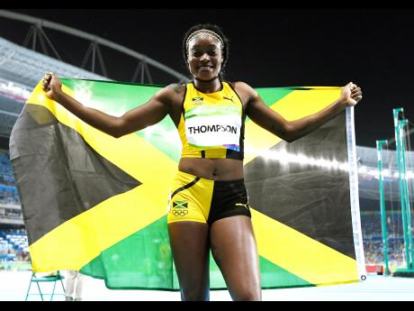 Elaine Thompson 2016 Olympic 100m champion.