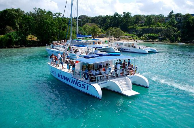 Dunn's River Falls Party Cruise with Snorkeling