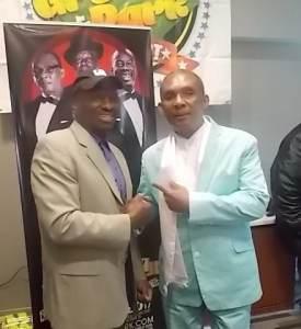 AJE Maxie D & Reggae Singer, Mr. Rock Steady, Ken Boothe.
