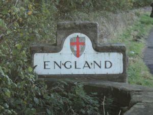 Into England we entered