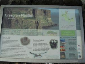 Creag an Fheilidh - The Kilt Rock
