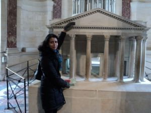 Ashwina and the little Panthéon