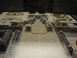 Model of the Palace of Versailles