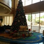 Christmas Tree in the Hilton lobby in Johannesburg, South Africa