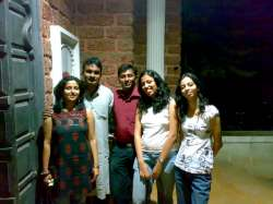 Rashmi, Ravi, Anoop, Maria and Radhika
