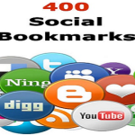 Increase high traffic to your webpage or blog by using 400 Social Bookmarking websites.